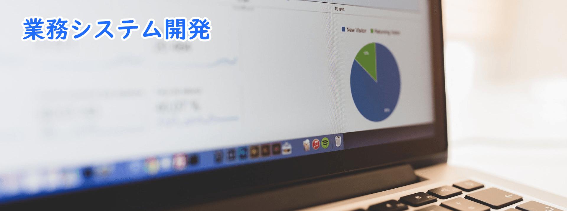 事業内容 - 業務システム開発